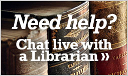 Chat live with librarian